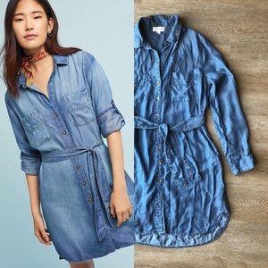 Cloth & Stone Chambray Shirt Dress